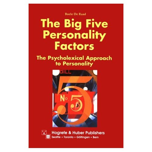 an overview of personality using the five personality dimensions Five personality dimensions and es the current study is the first to use the ffm  to organize the full range of personality variables that have been examined in.