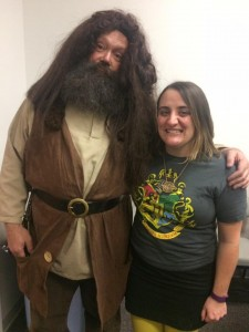 HP night Hagrid