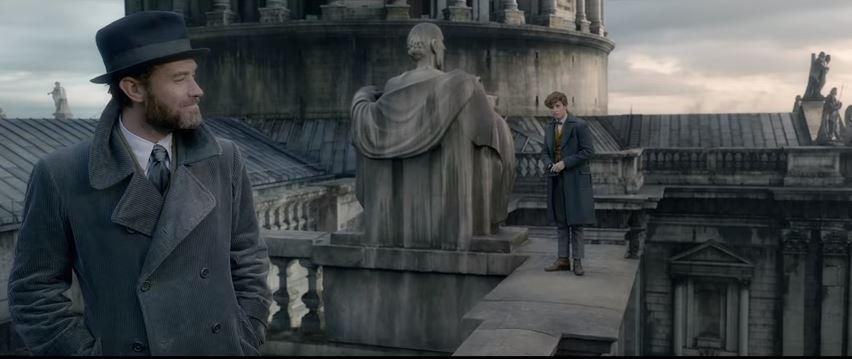 Is Newt Scamander a Dumbledore?