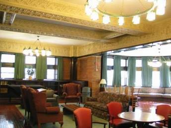 The Green Room, Hitchcock Hall, University of Chicago
